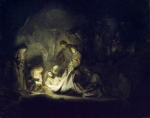 rembrandt entombment